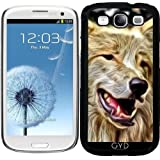 Funda para Samsung Galaxy S3 (GT-I9300) - Lobo Pintado Versión by More colors in life