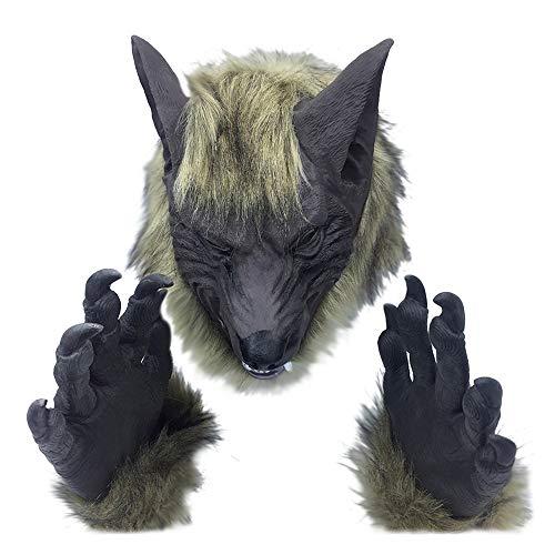 (Togel Halloween Horror Animal Head Simulation Mask Headgear for The Party Toy Gift Partei Spielzeug Geschenk Halloween Babyspielzeug Kürbis Kinderspielzeug Holzspielzeug Halloween Plastikspielzeug)