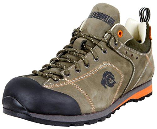 GUGGEN Mountain Herren Trekkingschuhe Wanderschuhe Wanderhalbschuhe Wasserdicht Outdoor-Schuhe Walkingschuhe HPT53 Farbe Braun EU 44