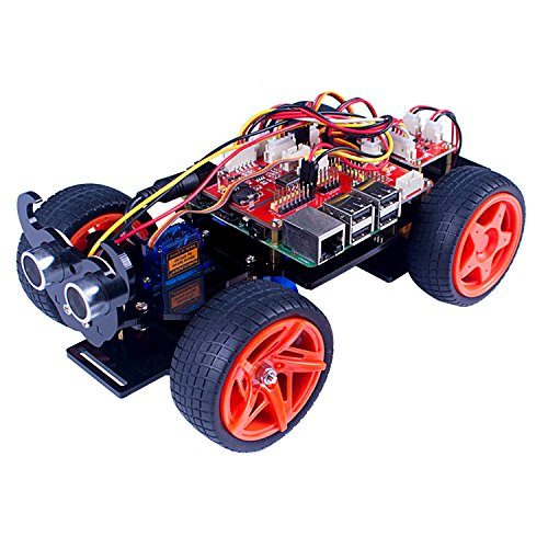 SunFounder Raspberry Pi 3 Roboter Smart Sensor Car Set - Picar-S