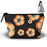 Portable Trapezoidal Storage Pouch Sea Shell Coral Crab Cosmetic Bags Travel Toiletry Zipper Pencil Holders