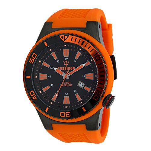 POSEIDON by KIENZLE XL Uhr Analog mit Silikon Armband UP00604