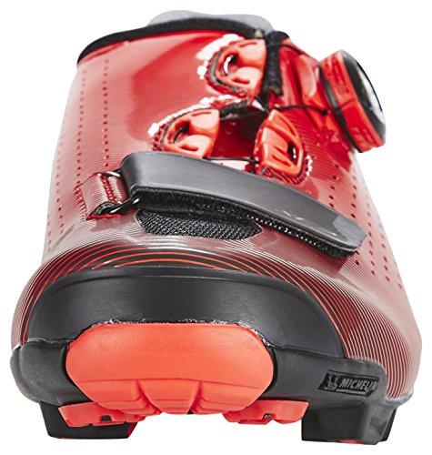 Rosso 2018 xc7r Rossa Scarpe Moto Sh Shimano Nero rosso F6WqtcP