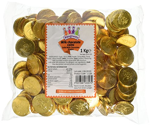 Milk Chocolate Gold Pirate Coins...