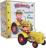 Coffret P'tit garçon - Le tracteur de Peter : Le livre + le tracteur de Peter