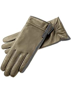 Roeckl Velvet Ribbon Damen Fingerhandschuhe Fingerhandschuhe Winterhandschuhe Mit Futter