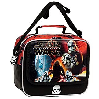 Disney Star Wars Battle Neceser de Viaje, 4.14 litros, Color Negro
