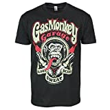 Gas Monkey Best Deals - Gas Monkey Garage Spark Plugs For Speed Freaks T-Shirt (Large)
