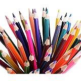 Conjunto de 48 lápices de colores surtidos Raniaco para libros de colorear de adultos, pincel incluido