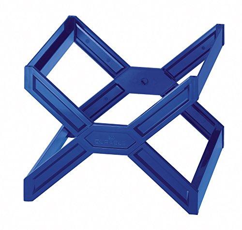 Durable 261106 Hängekorb Carry plus (für 30 Hängemappen A4, stapelbar und zusammenklappbar) blau