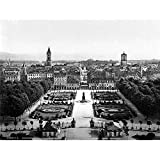 Wee Blue Coo LTD Karlsruhe General View Baden German Old BW