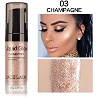 TAOtTAO Liquid Glow Highlighter Lip Foundation Makeup Shimmer Cream Facial Bronzer Contour Cosmetic
