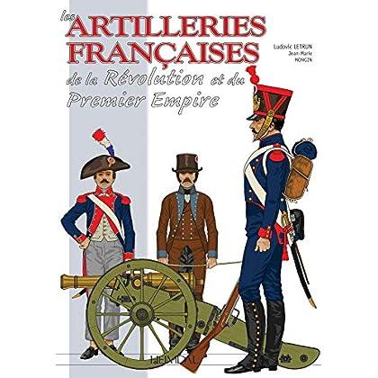 Les Artilleries Francaises: Premiere Partie 1786-1815, L'artillerie a Pied