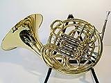 Symphonie Westerwald JS1080 Trompa doble en fa/si bemol, dorada/plateada, incluye funda rígida y accesorios