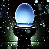 WC-Sitz Up 8 Farben ändern Körperbewegungssensor Automatische LED-Licht Toilettenschüssel Deckel Badezimmer Einhängesitz Nachtlicht -Lampe MaiTian