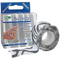 FINGERFLEX 2,5 cmx4,5 m Zebra 1 St Binden preisvergleich bei billige-tabletten.eu