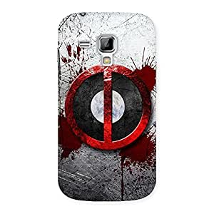 Bleed Dead Multicolor Back Case Cover for Galaxy S Duos
