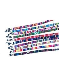 Cordón plano estrecho de gafas estampado étnico,4 unidades ,HC Enterprise -4