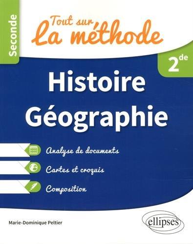 Tout sur la méthode en Histoire-Géographie - Seconde - Analyse de documents, cartes et croquis, composition