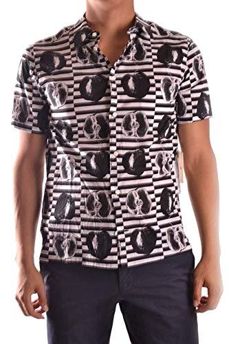 Marc Jacobs Herren Mcbi10615 Schwarz Baumwolle Hemd