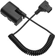 Andoer D-Tap to LP-E6 DC Coupler Adapter Fully Decoded Dummy Battery Accessory for Canon 5D2 5D3 5D4 6D 6D2 60D 7D 7D2 70D 80