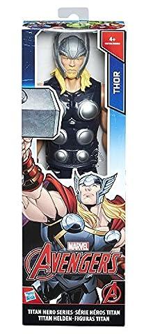 Hasbro Avengers C0758ES0 - Titan Hero Figur Thor, Actionfigur