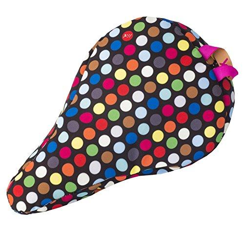 Liix Kids\' Sattelbezug Polka Big Dots Mix Black