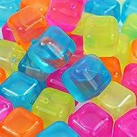 My de goodbuy2440Multicolor Reutilizables Cubitos de Hielo Forma de Cubo Party plástico útil Cubitos de Hielo