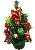 EOZY Weihnachtsbaum Künstlich Klein Christbaum Mini Tannenbaum Weihnachts Deko Farbe-1