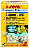 Sera 08415 phosvec Granulat 500 g - Dauerhafte Phosphat-Beseitigung für Süß- und Meerwasser (Filtermaterial in Laborqualität)