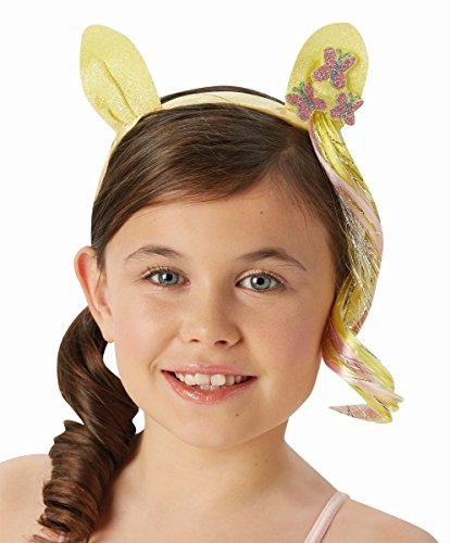 Rubie's My Little Pony Haarreif mit Haarsträhne und -
