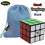MoYu Tanglong 3x3x3 Speed Puzzle Magic Cube Black With a MoYu Cube Bag MOYU Tanglong 3x3x3 velocidad Puzzle Magic Cube negro con un cubo de MOYU Bolsa