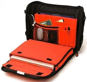 Fusion F1-25BCZO Workstation Courier Sacoche Black/Orange (Import Royaume Uni)