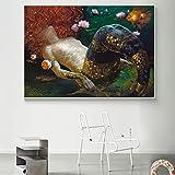 XIAOXINYUAN Moderne Kunst Leinwand Öl Malerei Zimmer Plakat und Print Wand Bild Für Wohnzimmer Home Decor Ohne Rahmen 20 X 30 cm Ohne Rahmen