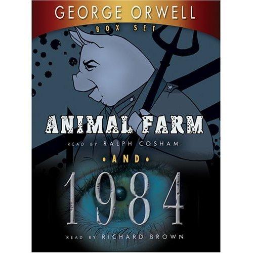 CD Box Set - 1984 and Animal Farm COMPLETE & UNABRIDGED