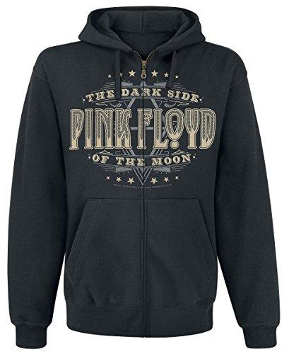 Pink Floyd Dark Side Sweat à capuche zippé noir Noir
