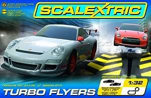 Scalextric - SCA1278 - Véhicule Miniature - Coffret - Turbo Flyers