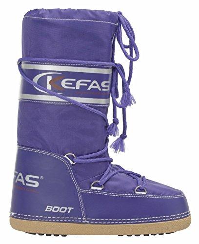 Kefas - Artica M - Herren Damen Kinder Schneestiefel After Ski Boots Lila
