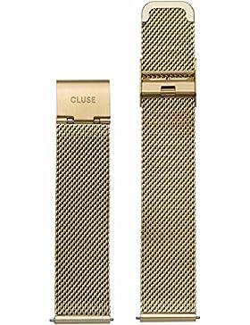 Cluse Damen Uhrenarmband Minuit Edelstahl Gold CLS346