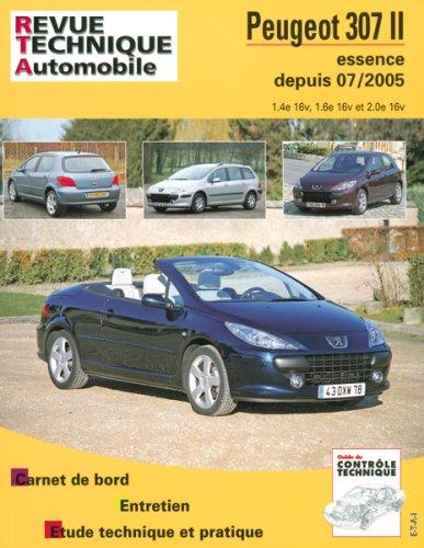 Revue Technique B714.5 Peugeot 307ii+Cc 07/05> Ess 1,4/1,6/2,0