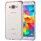 SCSY-case Modetelefonkasten Für Samsung Galaxy Grand Prime / G530 Galvanisieren Soft TPU Schutzhülle Fall (Farbe : Silber)