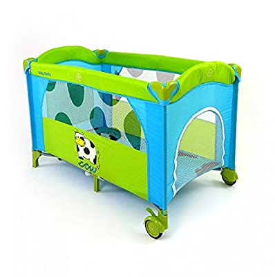 Milly Mally 0196Viaje Mirage Deluxe Cama Infantil, color azul