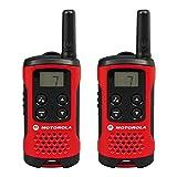 Walkie-Talkie Motorola TLKR T40 4 km LCD 16 h AAA Negro Rojo