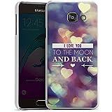 Samsung Galaxy A3 (2016) Housse Étui Protection Coque Saint-Valentin Je t'aime fete