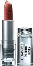 Lakme Enrich Matte Lipstick, Shade BM11, 4.7g