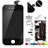 trop saint Ecran Noir pour iPhone 4S - Kit de Réparation avec Tapis de Repérage...