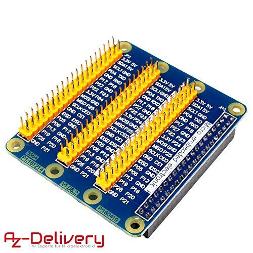 AZDelivery ⭐⭐⭐⭐⭐ GPIO Erweiterung Extension Board Für Raspberry Pi 3, Pi 2, Pi Modell B - Erweiterung