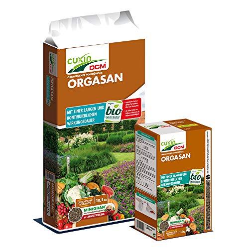 Cuxin Bio Naturdünger⎜organischer Kräuterdünger und Gartendünger⎜Obst, Gemüse und Kräuter (1 Kg Beutel)