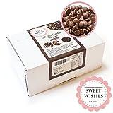 Produkt-Bild: Sweet Wishes 900g Belgische Fondue-Schokolade Vollmilch-Drops - zart schmelzender Hochgenuss feine Leckerei für Schoko-Brunnen Fondue-Sets - beste Qualität - 10 Portionsbeutel zu je 90 g einzeln verpackt