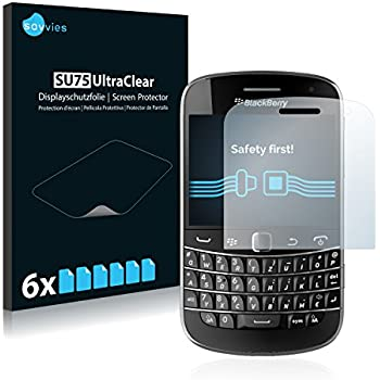 6x Savvies Film Protection pour RIM BlackBerry Bold Touch 9900 Protection écran Film Protecteur Transparent